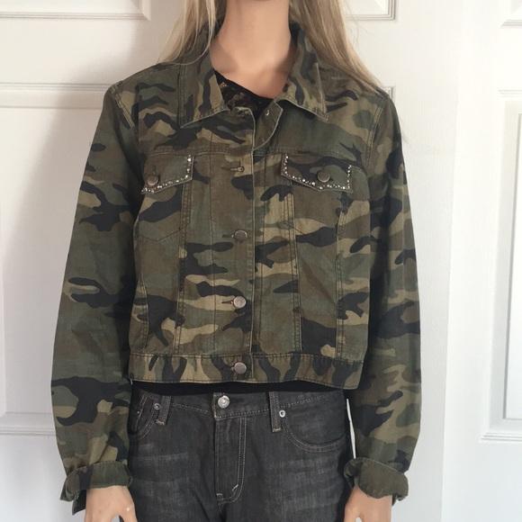 2801543c3556 Venezia Jackets & Coats   Great Plus Size Camo Jean Jacket   Poshmark